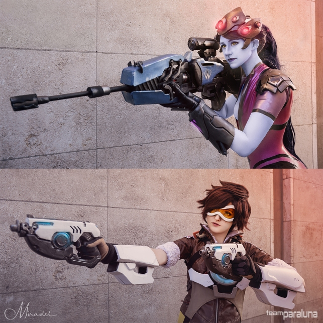 Tracer and Widowmaker - Overwatch
