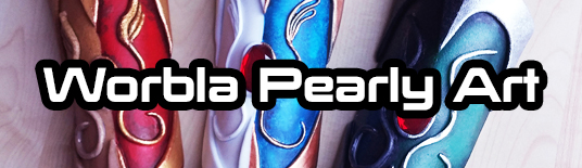 Worbla Pearly Art